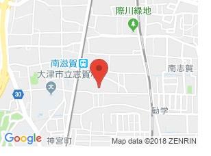 【地図】エクセルメゾン南志賀