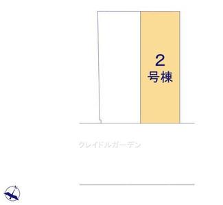 【区画図】新築 新潟市中央区湊町通4ノ町 2号