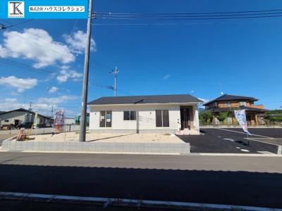 【外観】下妻市高道祖第1 新築戸建 1号棟