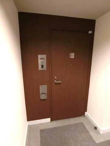 【玄関】高輪シティハウス