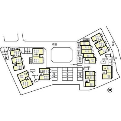 【区画図】リシアンサス・ガーデン