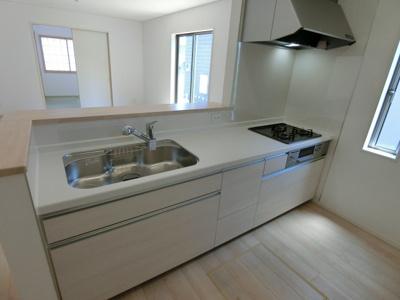 【キッチン】潮来市潮来 第2 新築戸建 全3棟