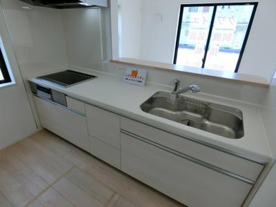 【キッチン】潮来市日の出 第6 新築戸建 4号棟