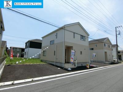 【外観】潮来市日の出 第6 新築戸建 全4棟