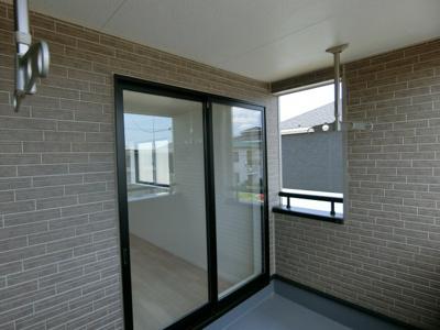 【バルコニー】潮来市日の出 第6 新築戸建 全4棟