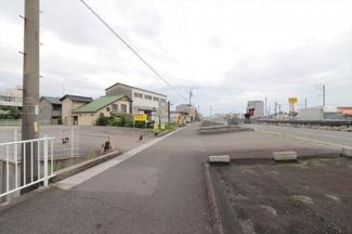 【前面道路含む現地写真】56032 瑞穂市穂積土地