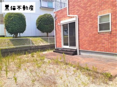 【庭】ローズヒルズⅡA棟
