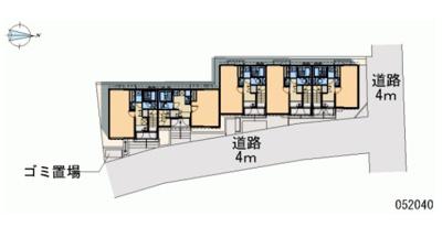 【区画図】ココグランデ十条