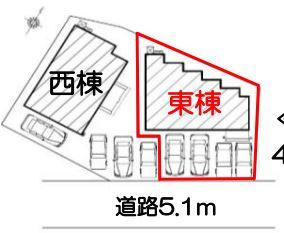 【区画図】磐田市岩井 新築一戸建て 東棟 FF
