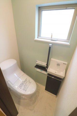 トイレには独立したお手洗い場