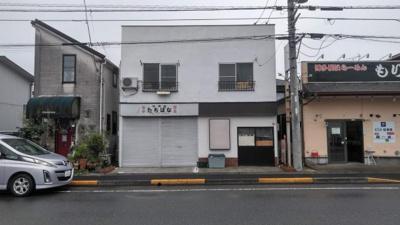 【外観】松飛台貸店舗 1B