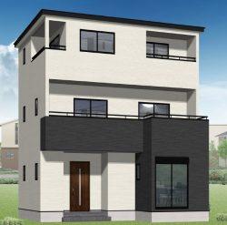 画像準備しています。現在建築中なので外観画像は、同じ住宅メーカーの他現場完成物件です。ご内覧は同じメーカーの完成物件へご案内いたしますので、いつでもご相談ください!外はこのようになっています