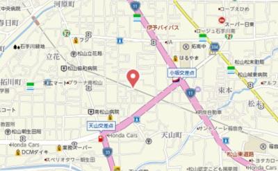 【地図】マリンハイツ