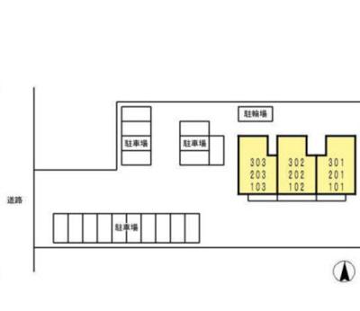 【区画図】Richesse Court(リセッシュ コート)