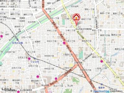 【地図】第79杉フラット
