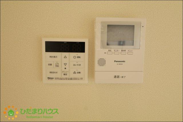 TVモニター付きインターホンで防犯面も安心です♪