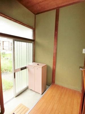 【玄関】北之幸谷202-4貸家