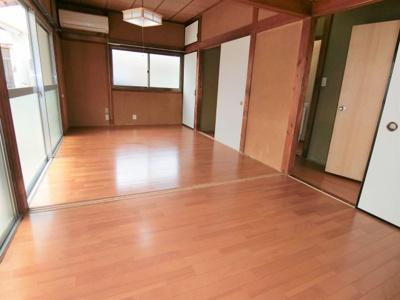 【居間・リビング】北之幸谷202-4貸家