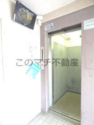 防犯モニター・エレベーター