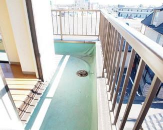 【バルコニー】熊谷市銀座6丁目一棟マンション