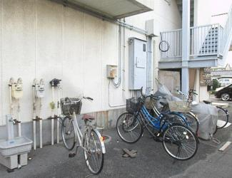 【駐輪場】熊谷市銀座6丁目一棟マンション