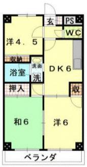 【間取り】熊谷市銀座6丁目一棟マンション