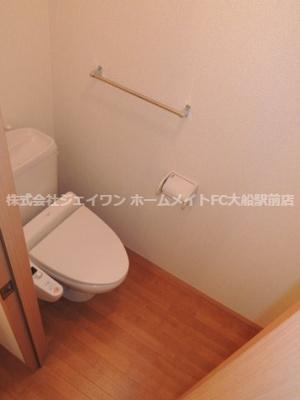 【トイレ】ウエスト・ベルグ鎌倉D