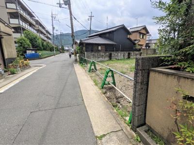 【前面道路含む現地写真】京都市山科区音羽中芝町