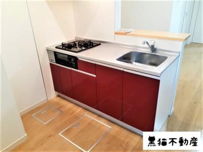 【キッチン】グランレーヴ東別院WEST