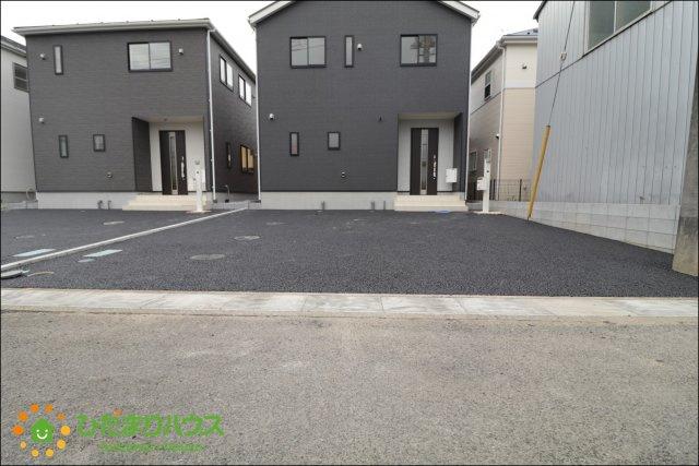 【駐車場】白岡市西第26 新築一戸建て 04 クレイドルガーデン
