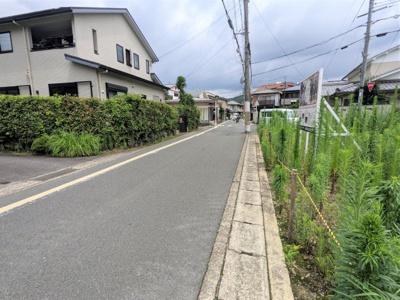 【前面道路含む現地写真】京都市山科区西野大手先町