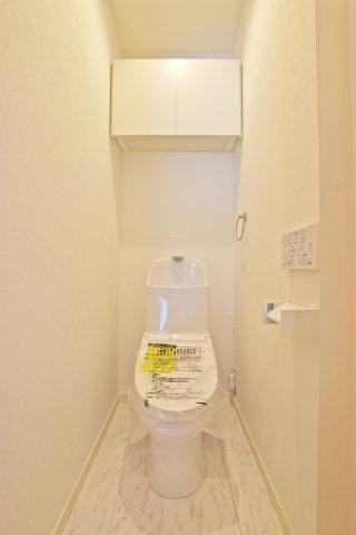 -同社施工例- 節水式ウォッシュトイレです。