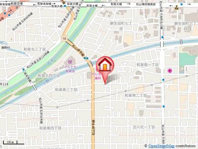 【地図】メゾン・アムール