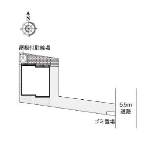 【区画図】ヴューテラス