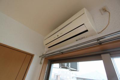 エアコン設置されているので快適な生活が送れます