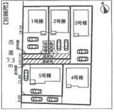 【区画図】沼津市根古屋 20-1期 新築一戸建て 3号棟 ID
