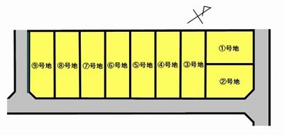 【外観】鳥取市緑ケ丘2丁目 分譲地⑨