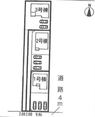 【区画図】沼津市下香貫 20-2期 新築一戸建て 2号棟 ID