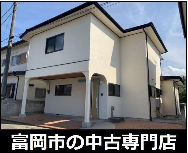 【外観】富岡市下高瀬 中古住宅