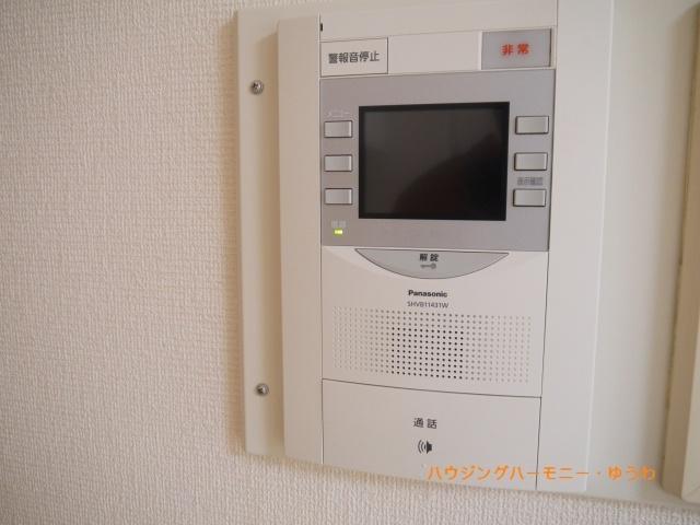 インターフォンとしての役割のほか、警報機ともなっています。