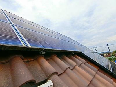 太陽光発電4.785Kw搭載。