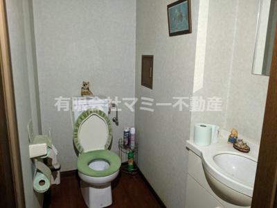 【トイレ】日永4丁目美容室居抜店舗