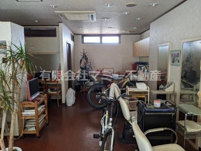 【内装】日永4丁目美容室居抜店舗