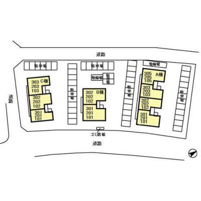 【区画図】ヒルサイドテラス久保台