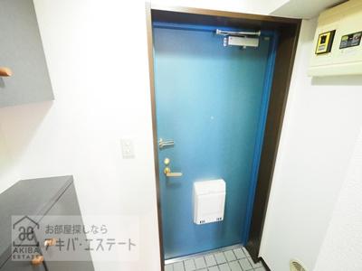 【玄関】プレール神田佐久間町