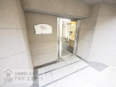 【エントランス】プレール神田佐久間町