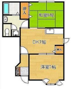 《2002年築木造》福岡県中間市土手ノ内1丁目一棟アパート