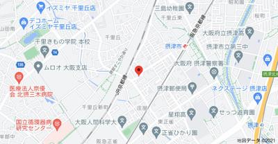 【地図】シルエーラ千里丘