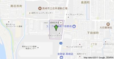 【地図】ファミーユ大阪高槻㈱Roots