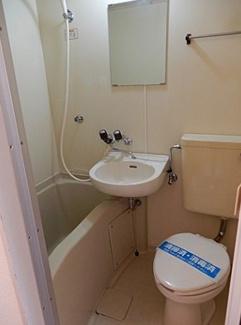 【浴室】横浜市港北区新吉田東1丁目一棟アパート